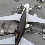 Грузовые авиаперевозки помогли UPS